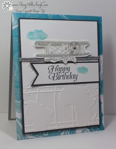 Sky Is The Limit Happy Birthday by amyk3868 - Cards and Paper Crafts at Splitcoaststampers