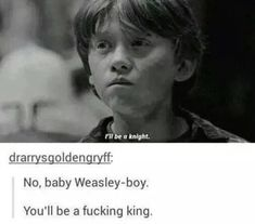 Weasley can save anything, he never leaves a single ring, that's why Gryffindors all sing. Weasley is our king. Harry Potter Universal, Harry Potter Fandom, Harry Potter Memes, Harry Potter World, Potter Facts, Must Be A Weasley, Ron Weasley, Slytherin Pride, Hogwarts