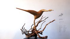 The Crane by JulessUniqueArtworks on Etsy
