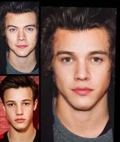 Well my goodness who woulda thought Cameron Dallas and Harry Styles combined would make such a beautiful man. ;)>>> HAHAHAHHAH