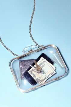 I See You Clear Hard-Case Shoulder Bag #urbanoutfitters