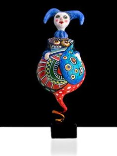 """Clown"" by Louise Latulippe"