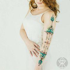 15 Tatuajes inspirados en el arte tribal amazónico, por el tatuador brasileño Brian Gomes