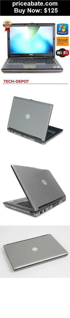 Computers-Tablets-And-Networking:  FAST DELL LATITUDE LAPTOP COMPUTER 4GB Core 2 Duo WiFi DVD Windows 7 Notebook - BUY IT NOW ONLY $125