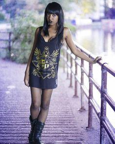 """Corvid Crest"" Tanktop Available at www.crmc-clothing.co.uk | WE SHIP WORLDWIDE Model -  @theyasminbenoit Photography by @mmmgodfrey #apparel #streetwear #streetfashion #alternativeguy #fashionista #fashionstatement #fashionofinstagram #alternativeteen #alternativegirl #alternativeboy #fashiongram #instafashion #fashionaddict #picoftheday #dailyfashion"