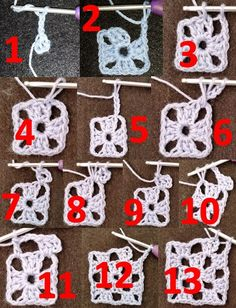 "Best 12 2,736 curtidas, 65 comentários – Neslihan'ın Hobi Atolyesi (@neslihanin_hobiatolyesi) no Instagram: ""Battaniye motiflerini bu şekilde birleştiriyorum. Umarım – SkillOfKing.Com Free Crochet Doily Patterns, Crochet Circles, Crochet Chart, Crochet Squares, Crochet Motif, Diy Crochet, Crochet Designs, Beginner Crochet Tutorial, Crochet Stitches For Beginners"