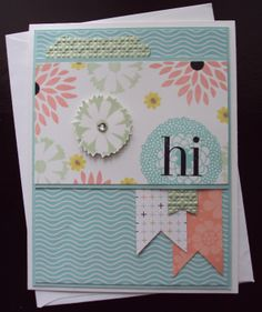 Stampin Up Sale-a-bration Petal Parade made by Paperecstasy