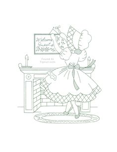 Sunbonnet Sue Embroidery Patterns Mccalls Monday Sunbonnet Sue Dow Q Is For Quilter. Cute Embroidery, Machine Embroidery Patterns, Hand Embroidery Patterns, Vintage Embroidery, Cross Stitch Embroidery, Embroidery Sampler, Sewing Crafts, Needlework, Sunbonnet Sue
