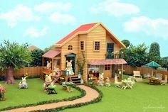 Sylvanian Famlies Woodland Lodge by Sylvanako