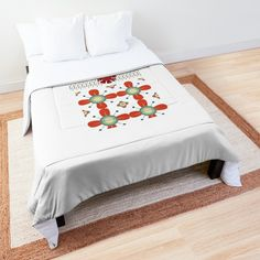 'Abstract amazing design ' Comforter by Bedroom Clocks, Bedroom Decor, National Christmas Jumper Day, Low Cost, Happy Merry Christmas, Santa Christmas, Christmas Gifts, Console, Linen Bedroom