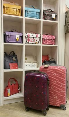 #Handbags & #suitcases from #Radley & #Yoshi - #Valentinesgiftideas from @Luck of Louth.