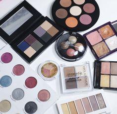 Huge round-up of #vegan, #organic and green eyeshadow palettes + Swatches   #eyemakeup #makeup #greenbeauty #benecos, #inika #studio78 #nudeandnoir #phbethicalbeauty #zuiiorganic #lavera #pacifica #ereperez
