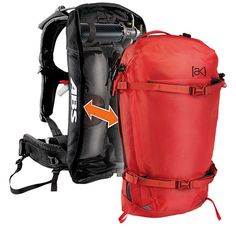The ABS Vario Cover [ak] 23L Backpack pairs with the ABS Vario Airbag for ultimate avy safety, along with a full array of backcountry storage features. | #13Things That Make Backpacks the Best Gifts Ever via Burton.com