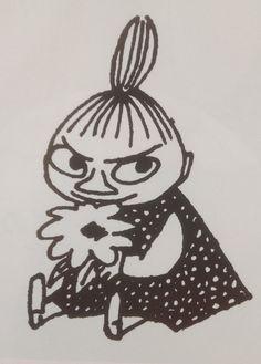 Tove Jansson's Little My Finland Little My Moomin, Moomin Tattoo, Les Moomins, Moomin Valley, Tove Jansson, Children's Book Illustration, Spirit Animal, Tattoo Inspiration, I Tattoo