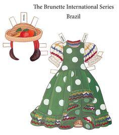 Paper Dolls~The Brunette International - Bonnie Jones - Picasa Web Albums