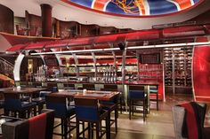 The bar at Gordon Ramsay Steak at Paris Las Vegas serves a wide selection of cocktails, wines and craft beers and is part of the ''Chunnel'' entrance