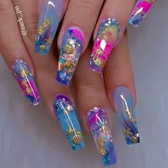 40 Fabulous Nail Designs That Are Totally In Season Right Now - These fabulous . - 40 Fabulous Nail Designs That Are Totally In Season Right Now – These fabulous nail art designs - Neon Nail Designs, Nail Art Designs Images, Acrylic Nail Designs, Art Images, Nails Design, Summer Acrylic Nails, Best Acrylic Nails, Gel Nail Art, Summer Nails