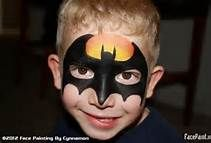 Superhero Face Painting Ideas For Boys
