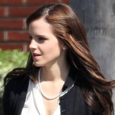Emma Watson at the Bling Ring set!