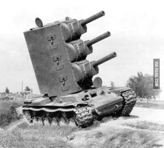 """the-alt-historian: """" Photograph of prototype """"Победа"""" shortly before it tipped over and exploded during pre-production trials, After the German seizure of Leningrad and subsequent two-pronged advance toward Moscow, Soviet industry went. Humor Militar, Memes Do Dia, Ww2 Tanks, World Of Tanks, Battle Tank, Military Weapons, Armored Vehicles, War Machine, Military History"""