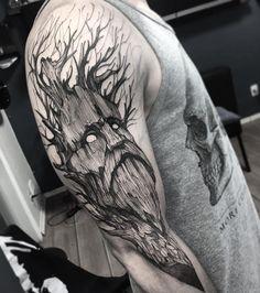 Tree Muito obrigado Moreno até a próxima Tattoo feita na @inkonik_tattoo_studio #electricink