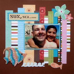 Sun, Sea and Sand - Scrapbook.com