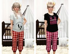 My Sims 3 Blog: Maternity Tops by Ladoucesim
