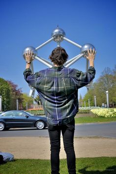 And here we have Harry in Brussels