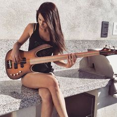 An Interview with Bassist Anna Sentina... Ciao Anna, how did you get started playing bass?