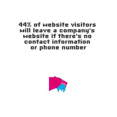 An oversight that some websites still make. Make sure that your contact information is up to date and relevant.