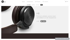 BeoPlay H8 —http://www.beoplay.com/products/beoplayh8#at-a-glance #Produit #Premium #Audio
