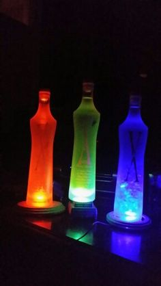 Bottle lamps Bottle Lamps, Lamps For Sale, Lava Lamp, Table Lamp, Home Decor, Lamp Table, Decoration Home, Room Decor, Table Lamps