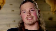 Alaskan Bush People - Noah Brown-- my soul mate, according to the quiz. Bush Family, Family Of 5, Beautiful Smile, Beautiful Dogs, Alaskan Bush People, Living Off The Land, Reality Tv, Brown, Mysterious