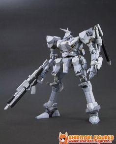 Armored Core Fine Scale Model Kit 1/72 White Glint AC-4 Version 17 cm  ( Kotobukiya )