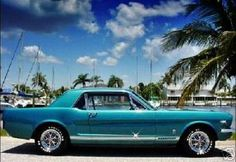 Old school Mustang