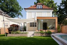 Bright and inviting, this House Extension in Austria was imagined by Aichberger Architektur as increasing square footage while accessing natural light.