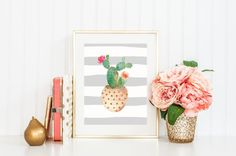 This listing includes one art print in the size of your choice. *Frame not included.  Our art prints are high quality, vibrant and printed on