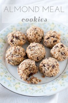 almond meal cookies on the blog, recipe via the sprouted kitchen.