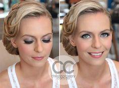 Grey eyeshadow, False lashes, Vintage Makeup, Vintage Hair