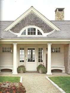 cap code style house exterior