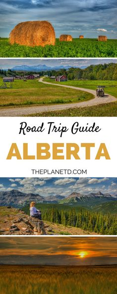 A ultimate 8-day road trip guide to exploring Alberta, Canada along the Cowboy Trail, including stops in Waterton Lakes National Park, Pincher Creek, Dinosaur Provincial Park, The Hoodoos and more. Travel in North America. | Blog by the Planet D
