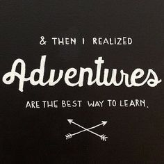 So let's find our own adventure.