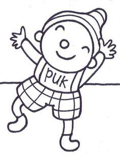 Uk En Puk Kleurplaten Dit Ben Ik.44 Beste Afbeeldingen Van Puk En Ko In 2019 Back To School First
