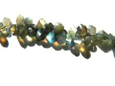 AAA.Quality Lovely Labradorite Step Cut Faceted Beads by GemsPebblesandBeads, $40.00