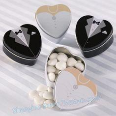 http://item.taobao.com/item.htm?id=43670200071 WJ046 Groom Mint Tin,Chocolate Candy Box, Favor Bags Decor