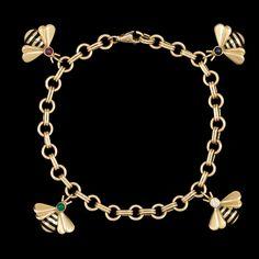 Cartier bee charm bracelet