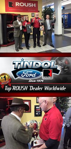Tindol is honored to be the #1 ROUSH Dealership in the World! Thank you to our Tindol ROUSH Team, everyone at #ROUSHPerformance and #ROUSHYatesEngines, all of our #ROUSHKATEERS, and everyone who attended the presentation ceremony yesterday!  http://tindolford.com/custom/Tindol-Roush-Performance