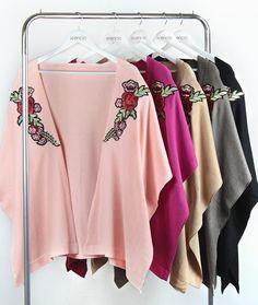 ♡ Kimono Flores ♡ ART. 4057 Krencia indumentaria Ventas solo por mayor