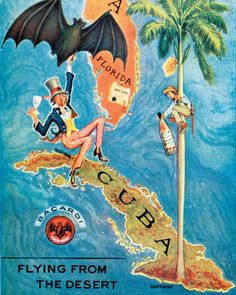 The Rum Diaries (in pictures): Bacardi posters from 1920s to 1999 ...