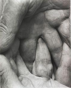 Interlocking Fingers Nº6, 1999 by John Coplans